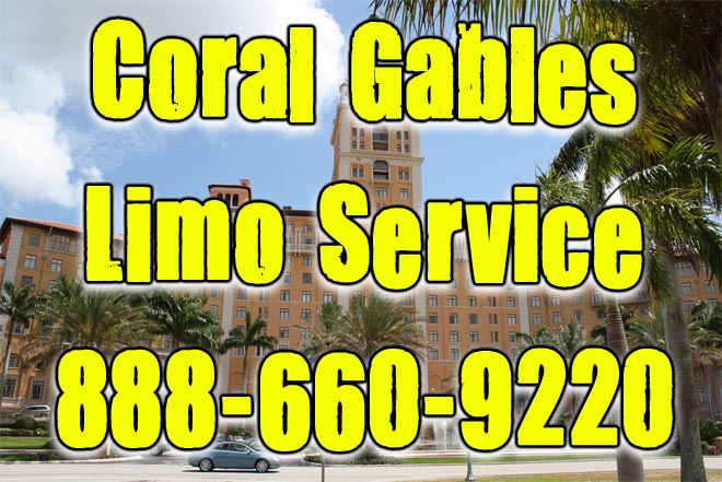 Coral Gables limo service