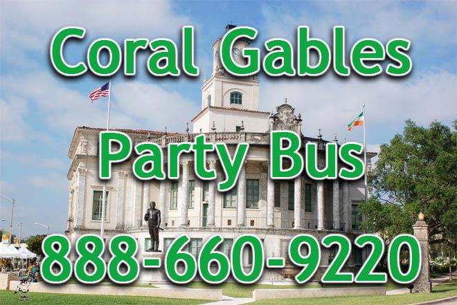 coral gables party bus service