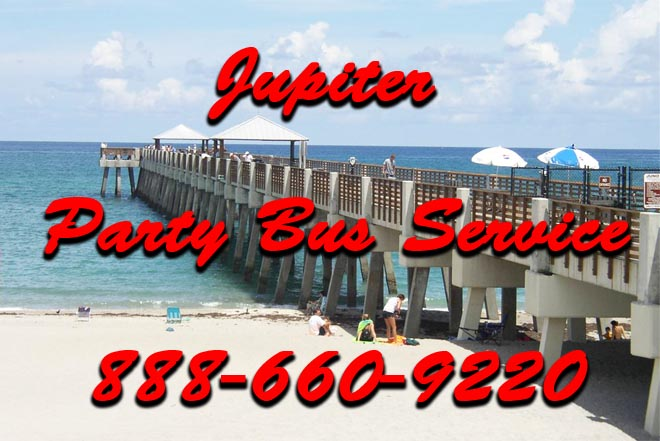 jupiter party bus service