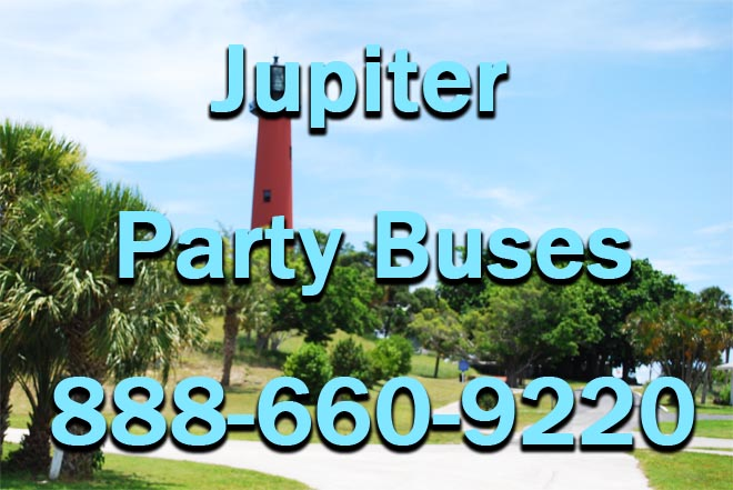 jupiter party buses