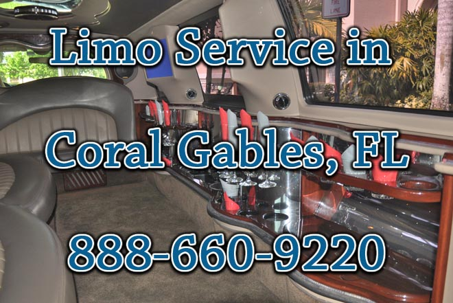 limo service Coral Gables, FL
