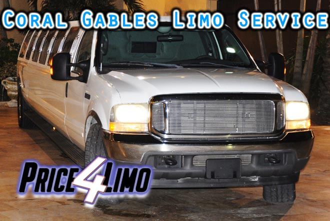 limo service Coral Gables