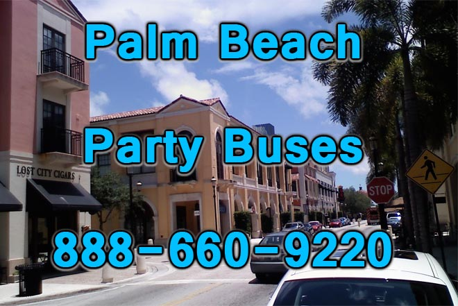 palm beach party buses