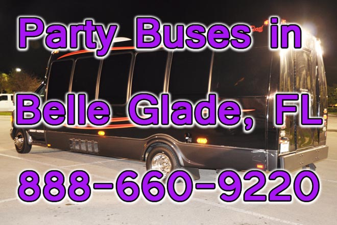 Party Bus Belle Glade, FL