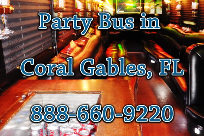 party buses in coral gables