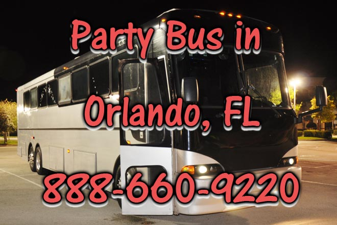 party buses in orlando
