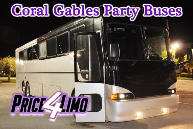 party buses in coral gables, fl