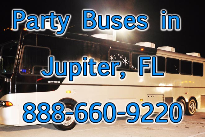 party buses in jupiter, fl