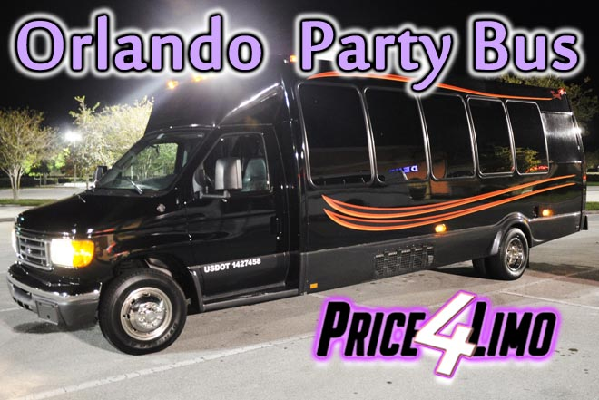 party buses in orlando, fl