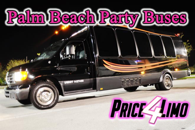 party buses in palm beach, fl
