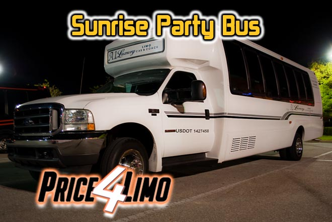 party buses in pompano beach, fl