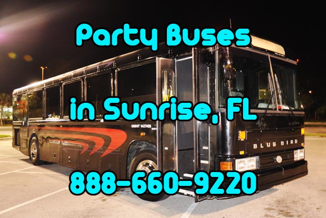 party buses in pompano beach