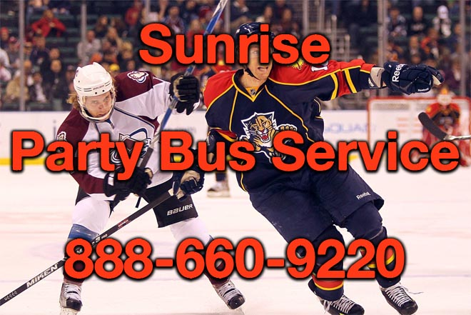 pompano beach party bus service