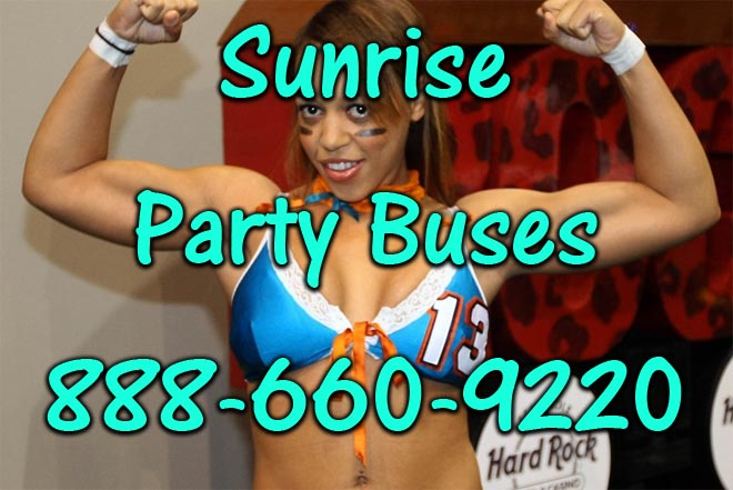 pompano beach party buses