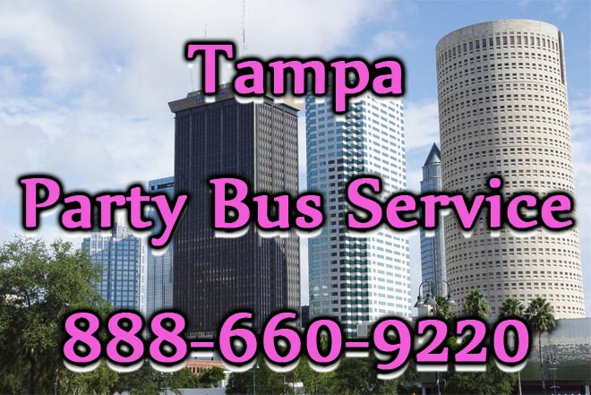 tampa party bus service