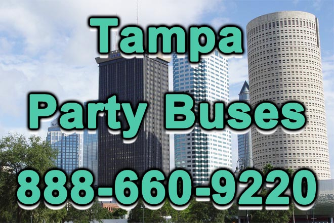 tampa party buses