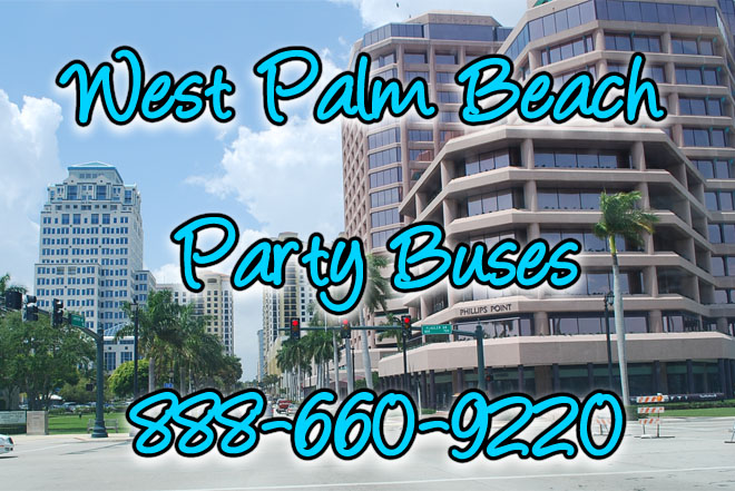 west palm beach party buses